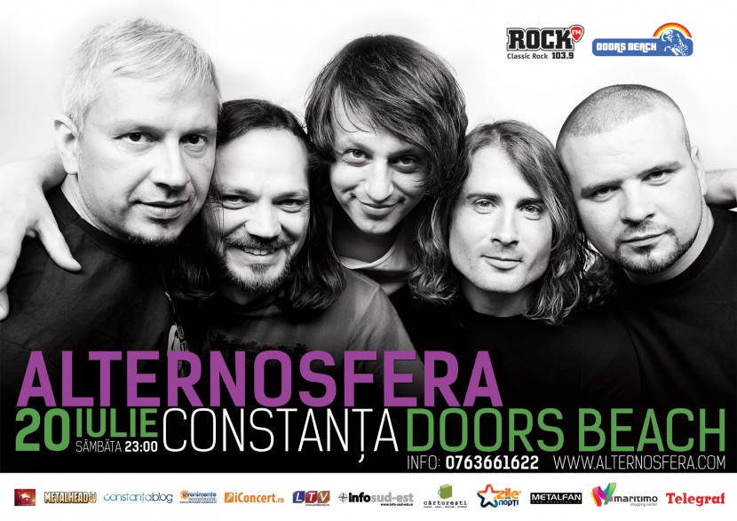 Concert ALTERNOSFERA la Doors Beach