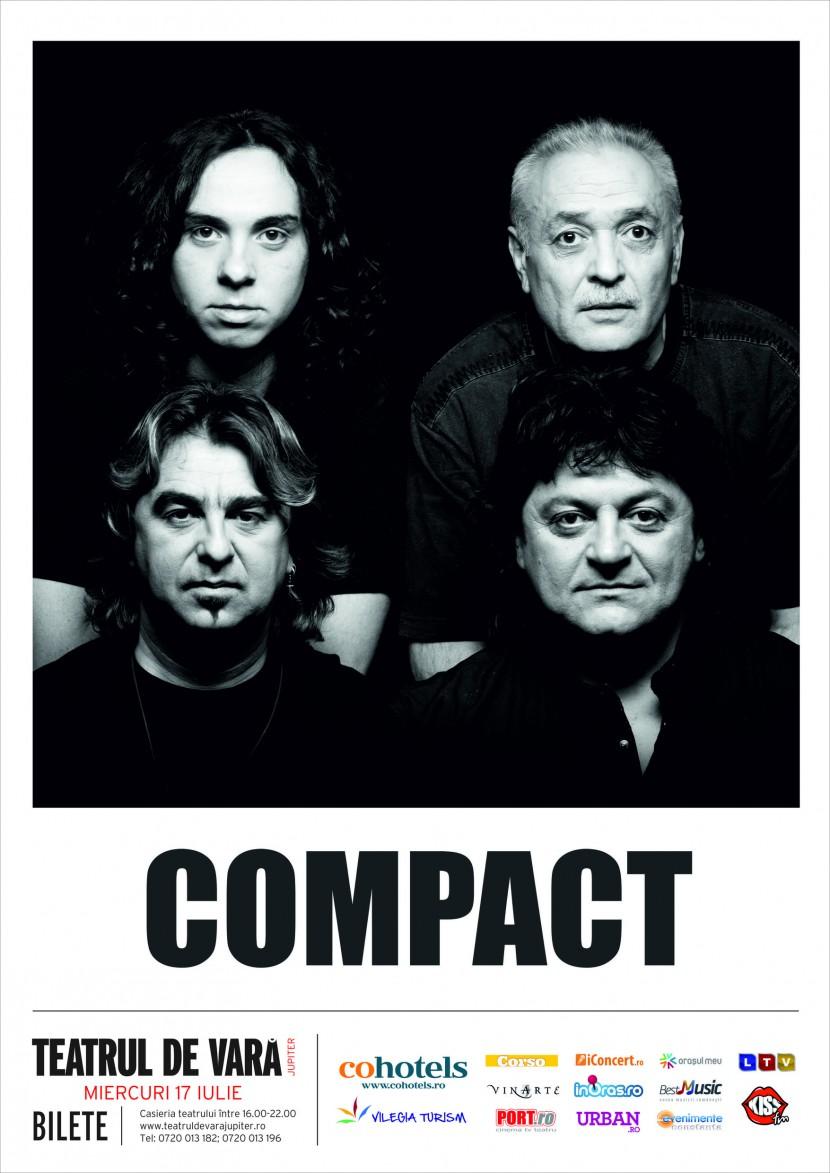Concert Compact la Teatrul de Vara din Jupiter