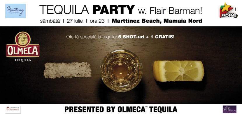 TEQUILA PARTY la Marttinez Beach