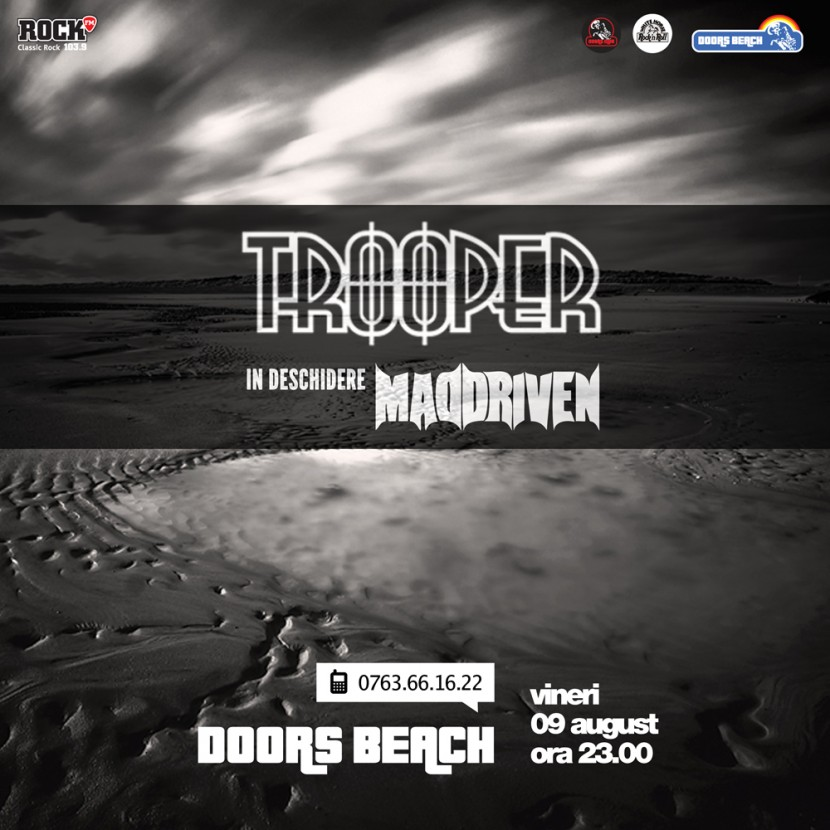 Concert TROOPER la Doors Beach in Mamaia