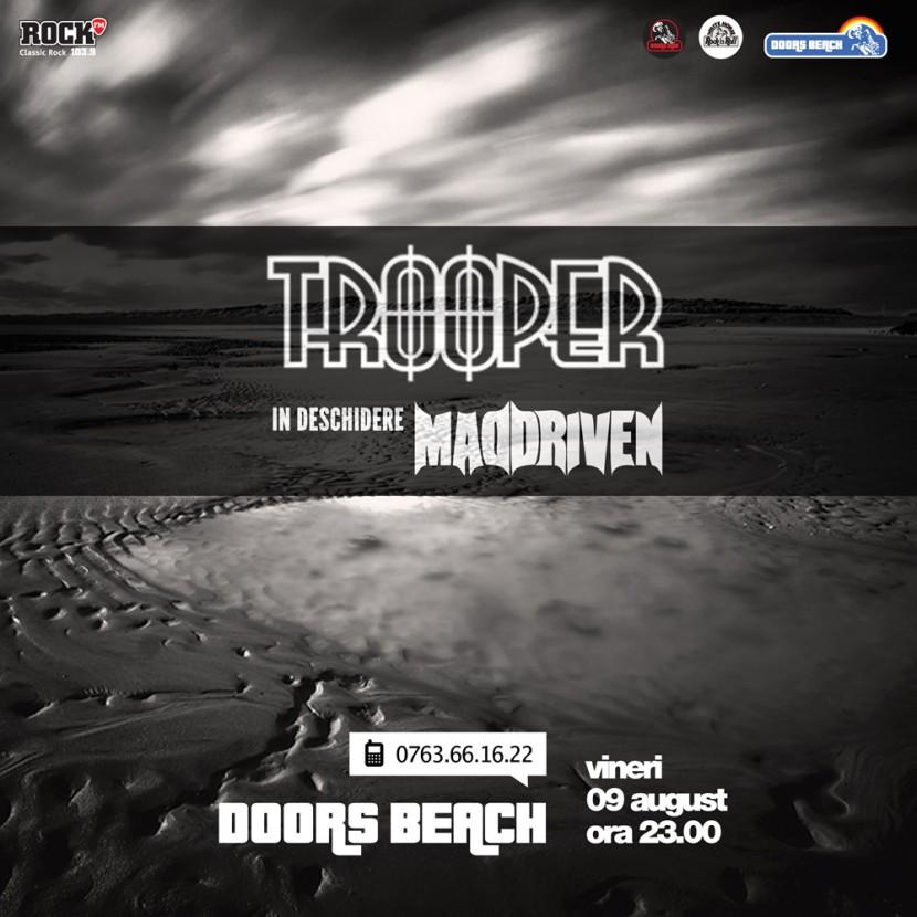 Concert TROOPER la Doors Beach in Mamaia