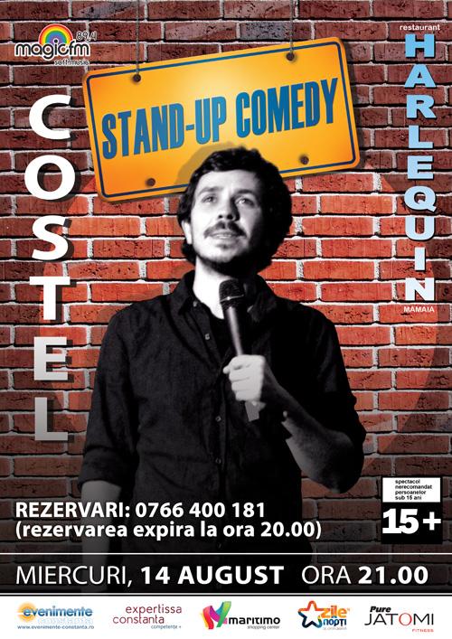 Stand-up comedy cu COSTEL la Harlequin Mamaia