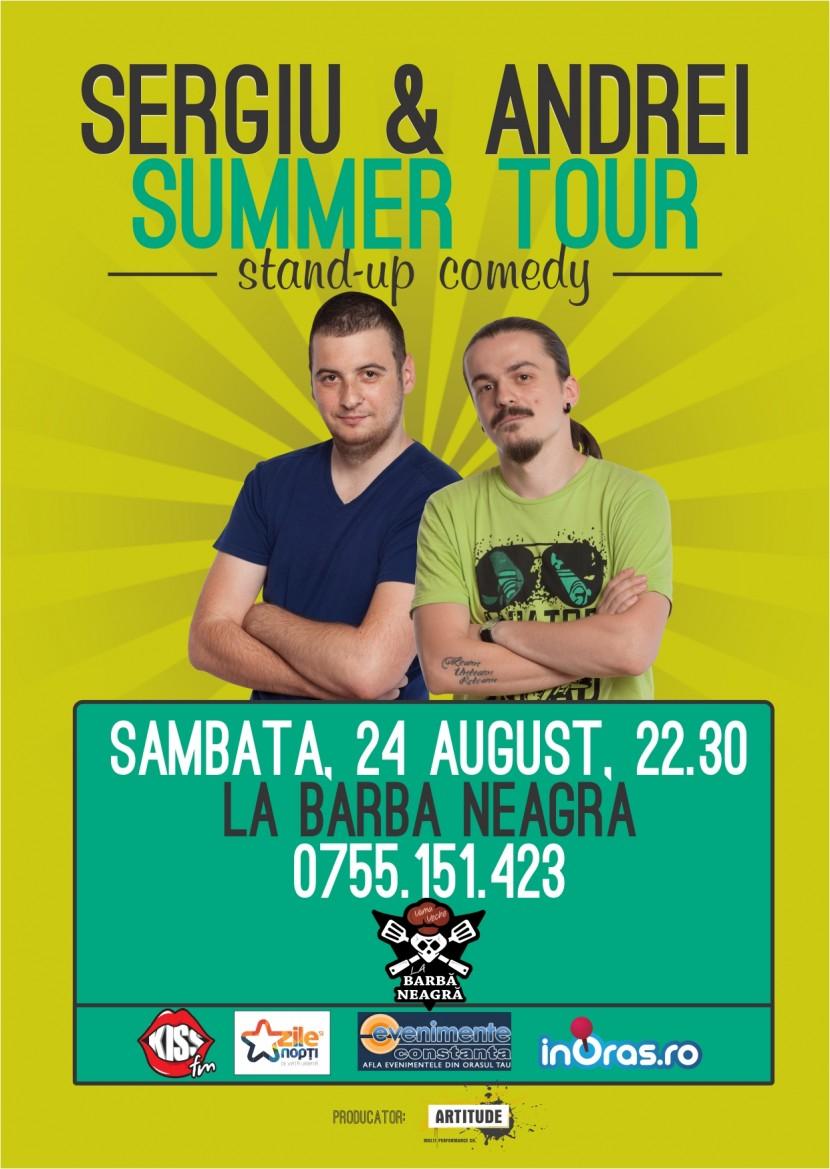 Stand-up comedy cu Sergiu si Andrei la Vama Veche