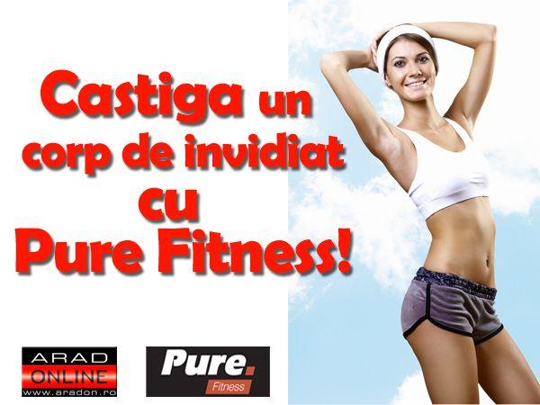 CONCURS: Castiga un ABONAMENT la Pure Fitness!