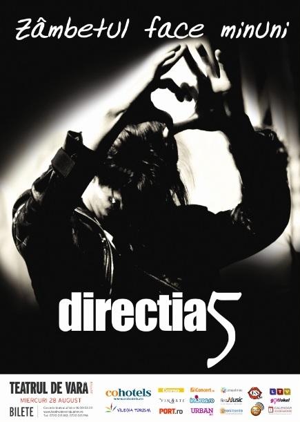 Concert DIRECTIA 5 la Teatrul de Vara Jupiter