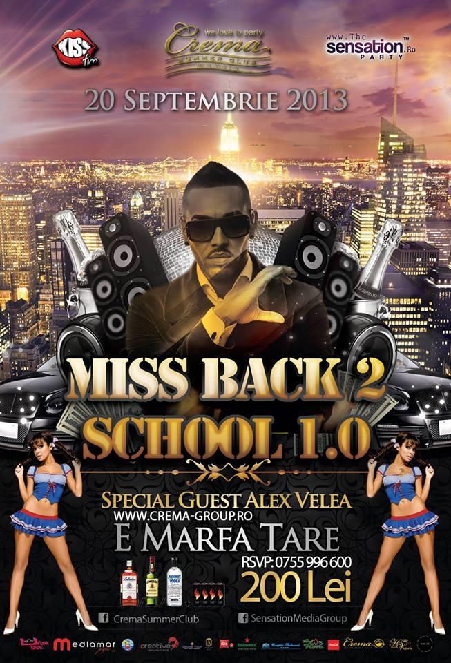 Miss Back To School, în Crema Summer Club