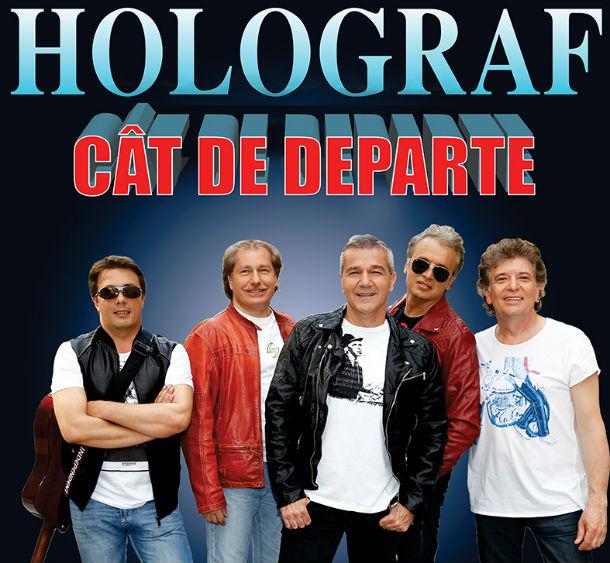 HOLOGRAF revine la Constanţa, live la Casa de Cultură a Sindicatelor