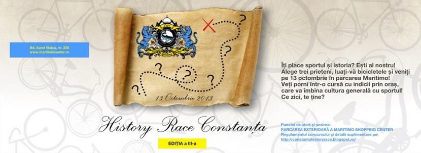 History RACE Constanţa! Să-i dăm pedală!