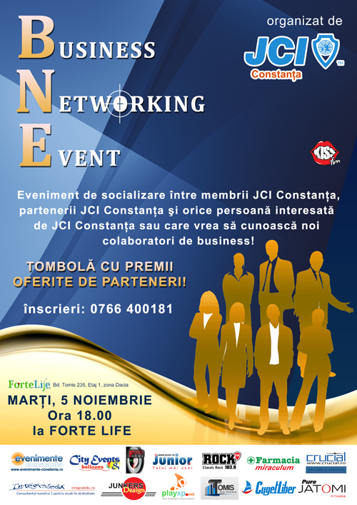 Business Networking Event organizat de JCI Constanța