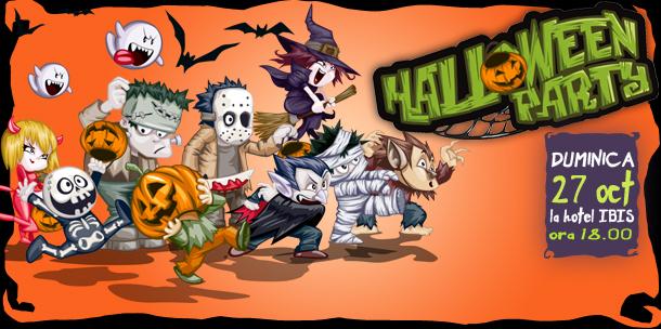 Halloween Party cu trupa SUFLETEL la Hotel IBIS pe 27 octombrie