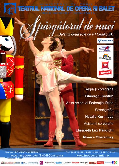 """Spărgatorul de Nuci, balet pe scena Teatrului """"Oleg Danovski"""""""