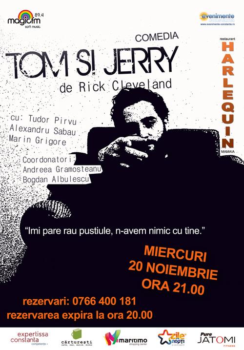 Teatru: TOM & JERRY la Harlequin Mamaia