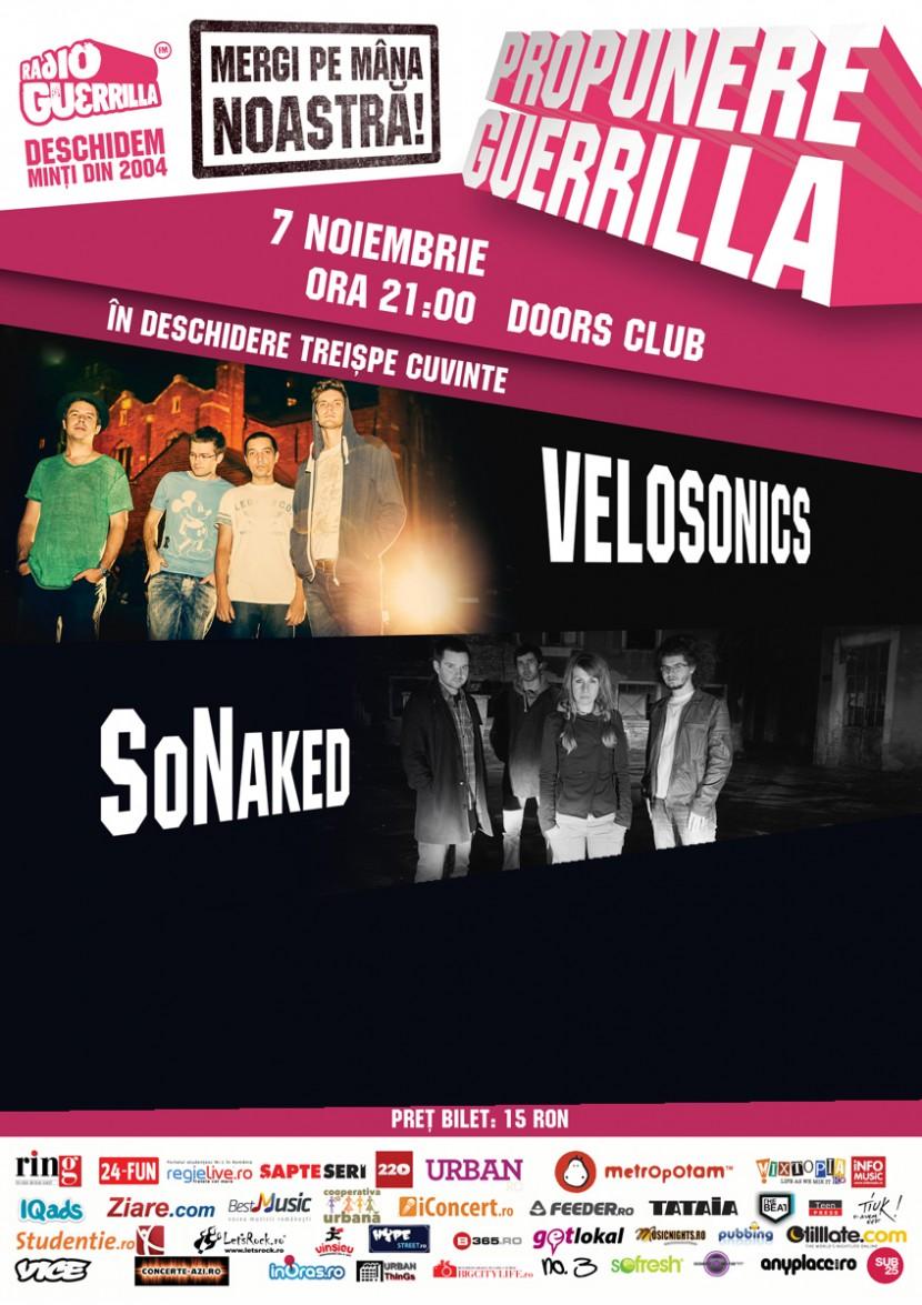 Radio Guerilla şi Club Doors îţi oferă PROPUNEREA GUERRILLA!