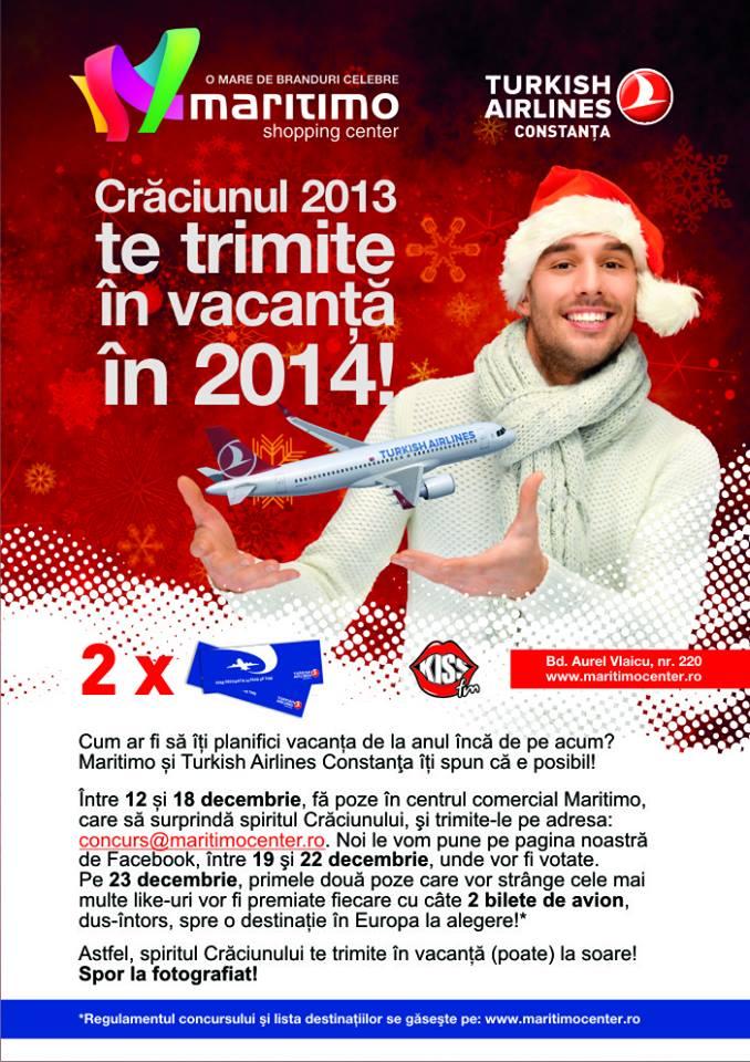 Surprinde Crăciunul într-o poză şi CÂŞTIGĂ o vacanţă oriunde vrei în EUROPA!