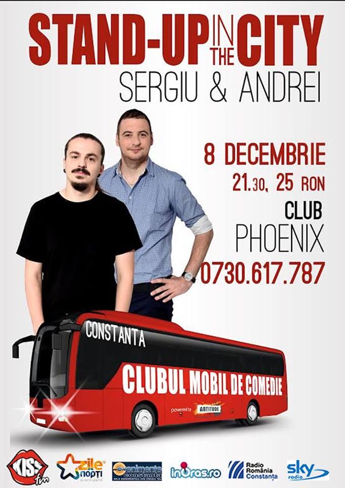 Stand-up cu SERGIU & ANDREI, în club Phoenix