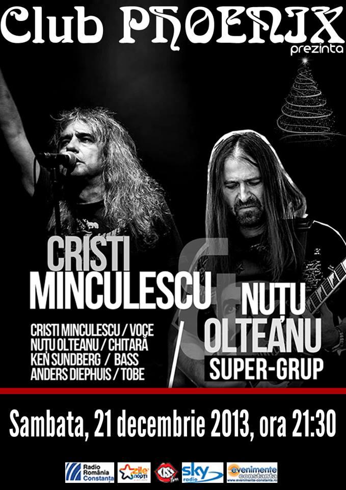 Concert LIVE, Cristi Minculescu şi Nuţu Olteanu Super-grup, în Phoenix