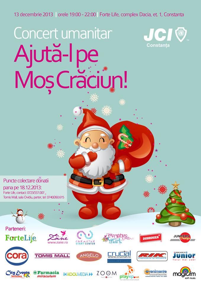 """Concert Umanitar """"Ajută-l pe Moș Crăciun!"""" organizat de JCI Constanța la Forte Life"""