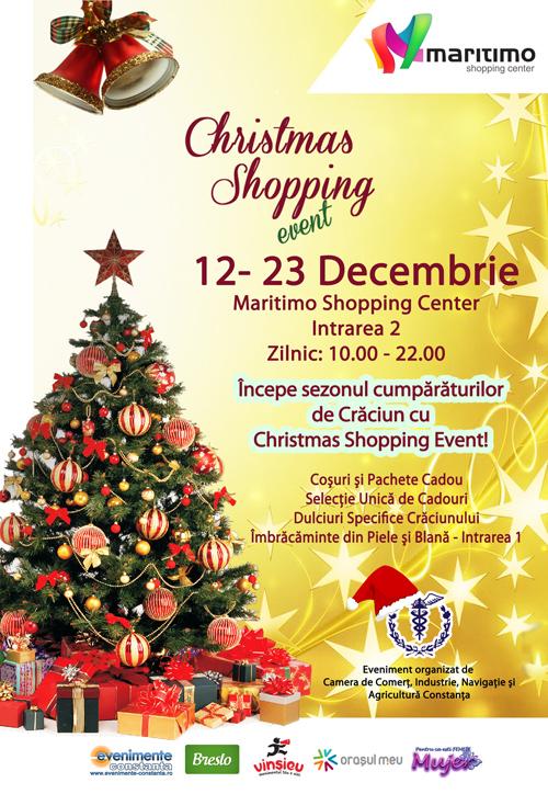 Christmas Shopping Event la Maritimo Shopping Center