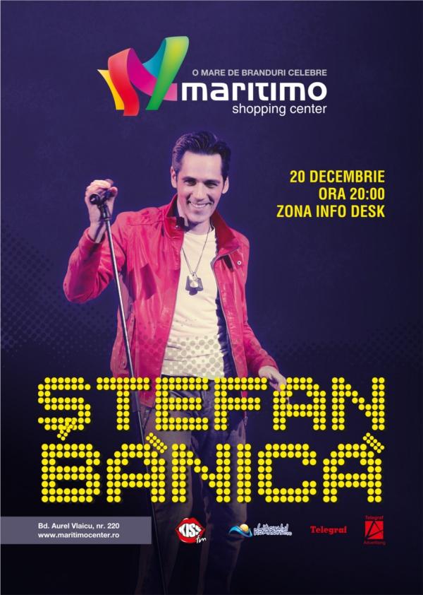 STEFAN BĂNICĂ, concert de Crăciun în MARITIMO
