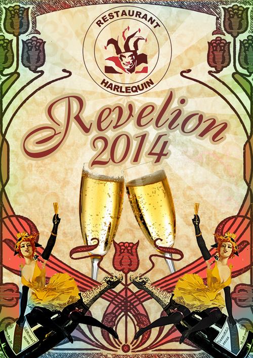 REVELION 2014 Harlequin Mamaia