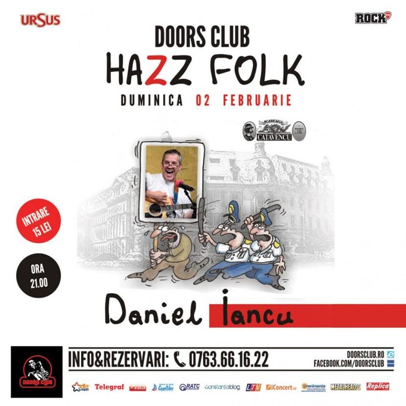 Concert DANIEL IANCU, la Club Doors