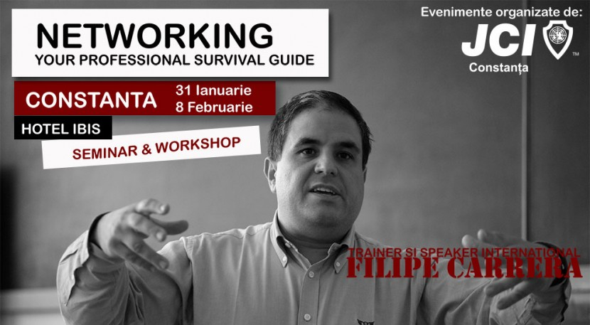 FILIPE CARRERA in Constanta – NEWTWORKING – your professional survival guide, la Hotel IBIS