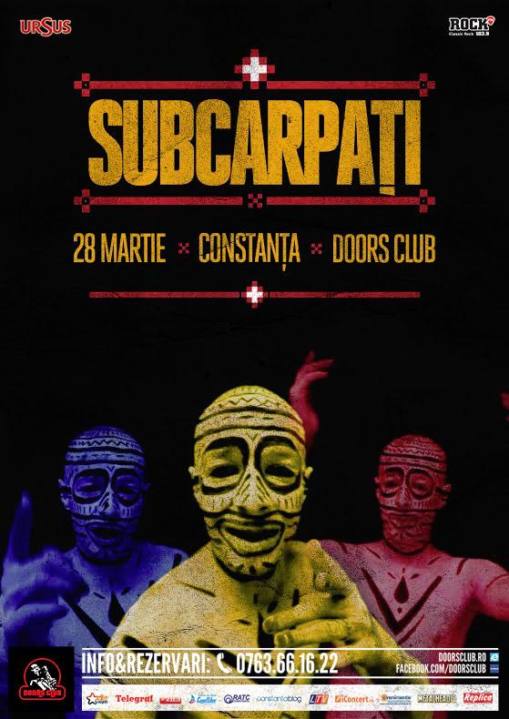 SUBCARPAŢI, concert live în Club Doors