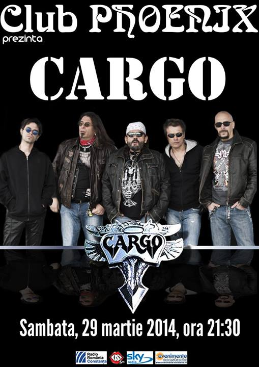 Concert CARGO, în Club Phoenix