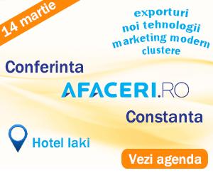Conferinţă Afaceri.ro, la Hotel Iaki