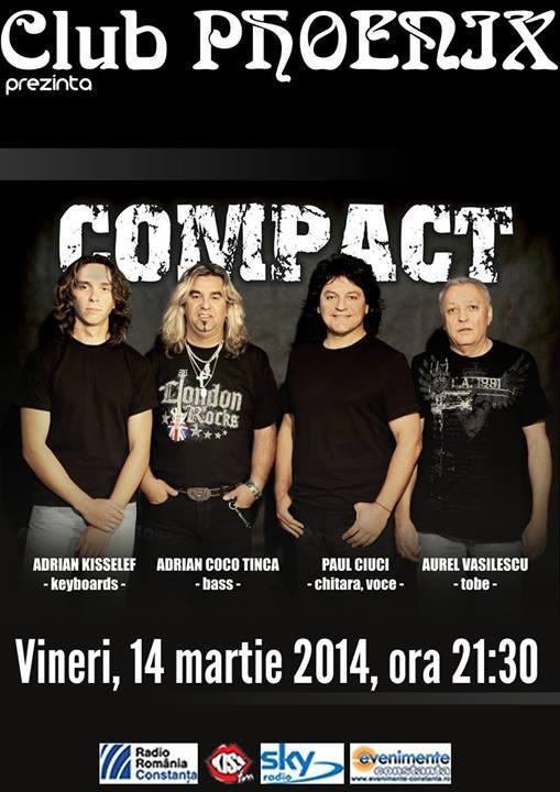 Concert COMPACT, în Phoenix