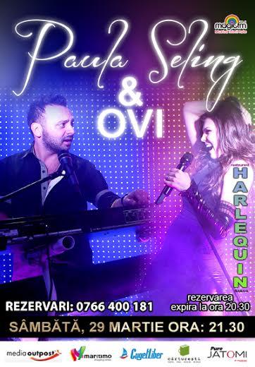 Concert PAULA SELING & OVI la Harlequin Mamaia