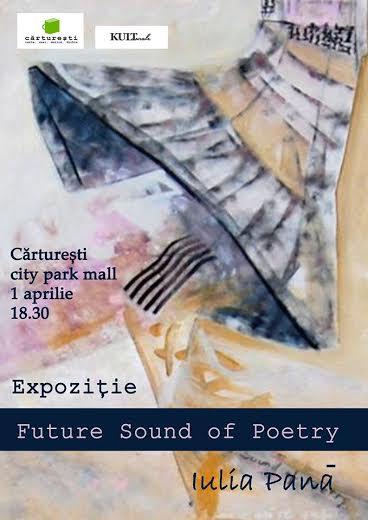 Future sound of poetry sau sunetul poeziei în culoare, la Cărtureşti