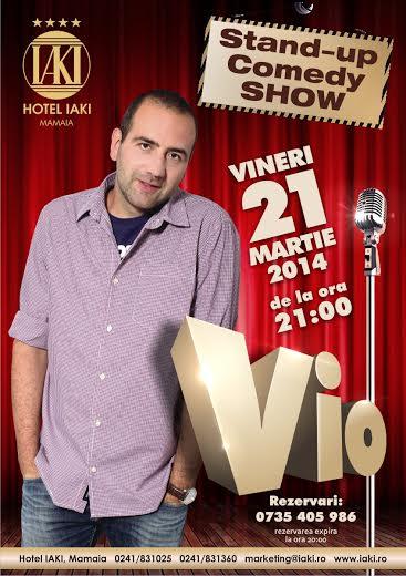 Stand-up comedy cu Vio la Hotel IAKI