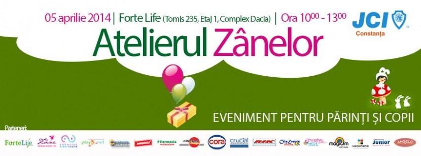 ATELIERUL ZANELOR by JCI Constanta la Forte Life pe 5 aprilie
