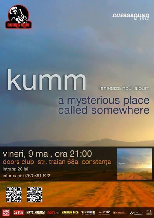 Lansare album şi concert KUMM, în Club Doors