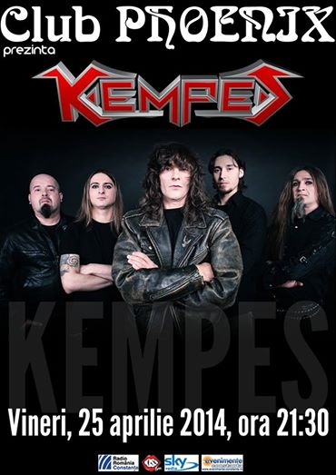 Concert KEMPES, în Club Phoenix