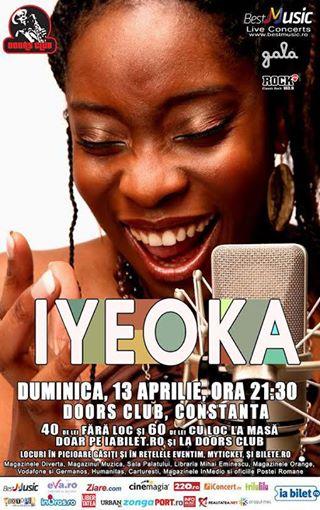 IYEOKA, concert LIVE la Constanţa, în Club Doors!