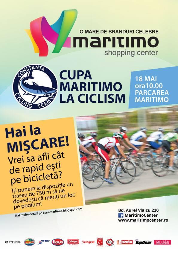 Cupa Maritimo la CICLISM. Vino să dai pedală!