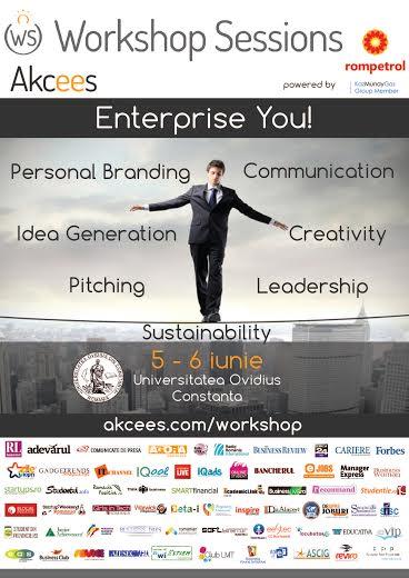Enterprise You. Cum să-ţi transformi pasiunea în carieră!
