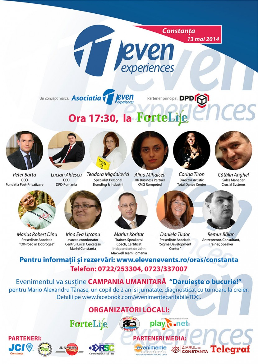 11even Experience, pentru prima data in Constanta