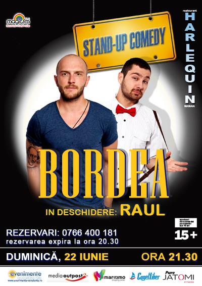 Stand-up comedy cu BORDEA si RAUL la Harlequin Mamaia