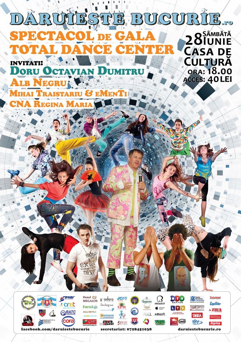 """Super-spectacol CARITABIL, """"Dăruieşte Bucurie"""", la Casa de Cultură"""
