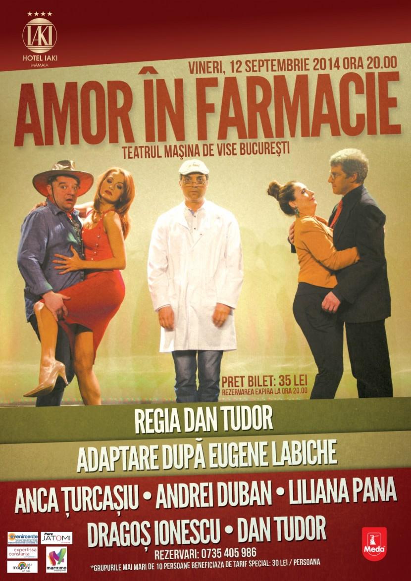 "Teatru ""Amor in farmacie""  la Hotel IAKI"