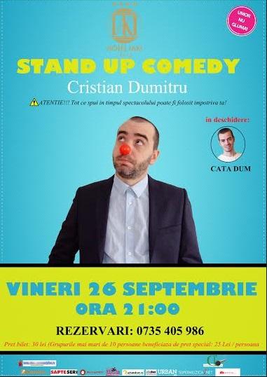 Stand-up comedy cu Cristian Dumitru la IAKI