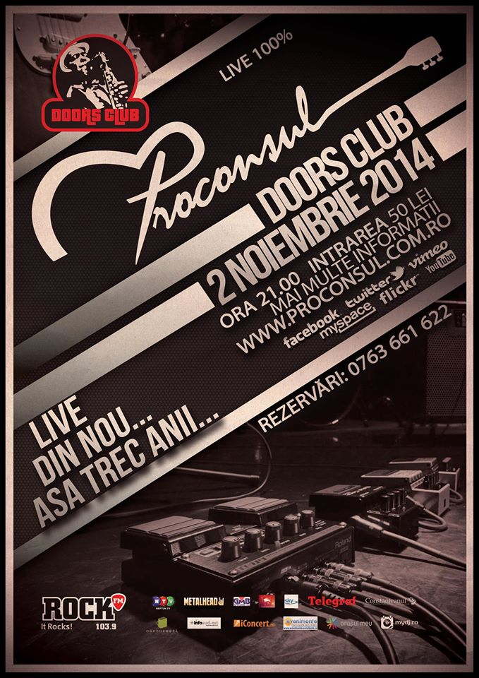 Concert PROCONSUL in club Doors