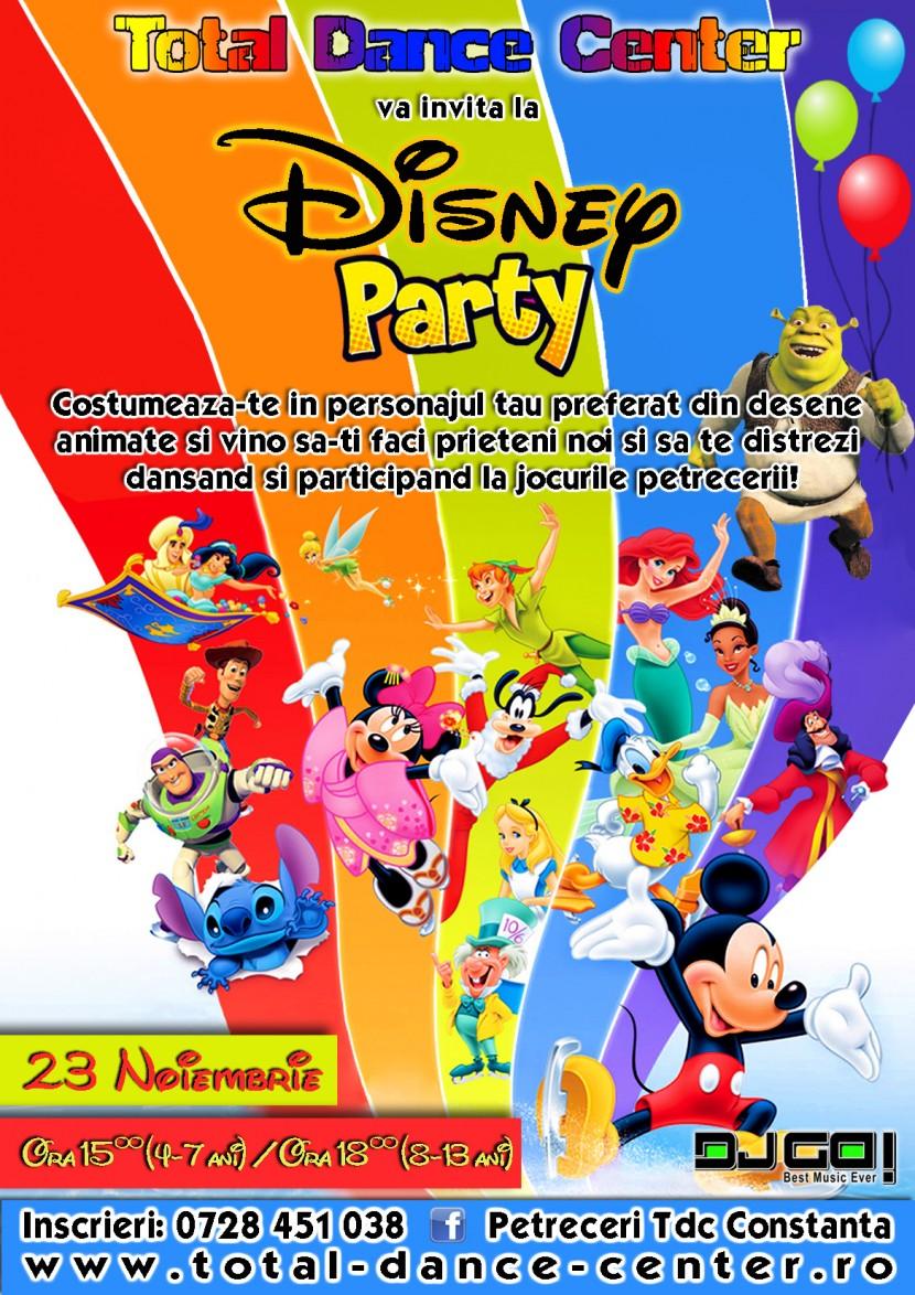 DISNEY PARTY la Total Dance Center