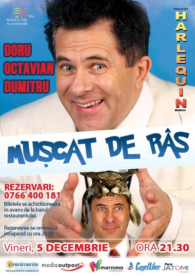 Spectacol NOU cu Doru Octavian Dumitru la Harlequin