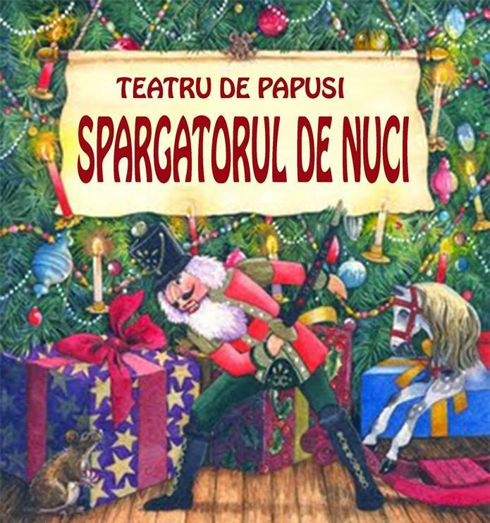 Teatru de papusi: SPARGATORUL DE NUCI la Harlequin