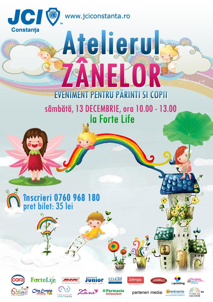Magie la Atelierul Zânelor JCI Constanța pe 13 decembrie la Forte Life