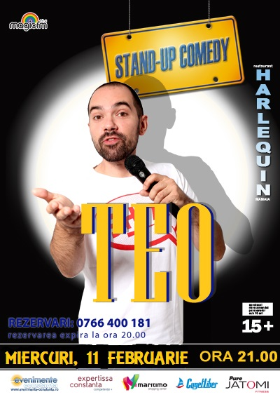 Stand-up comedy TEO la Harlequin Mamaia
